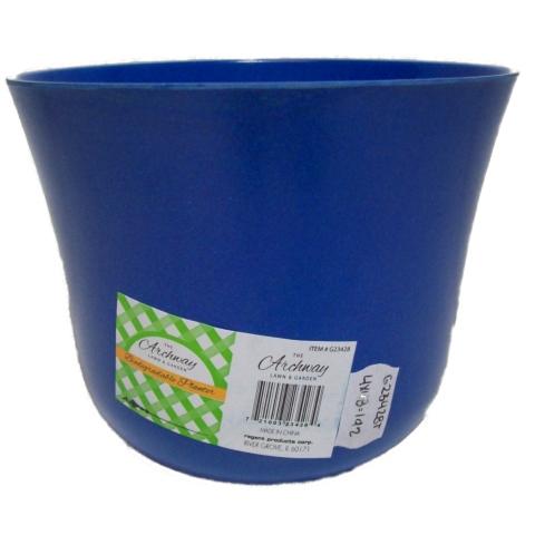Acma decoraciones maceta de plastico biodegradable 7 x 5 - Decoracion de macetas de plastico ...